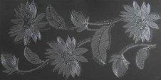 Zdjęcie Alaska Kwiat Grafit Dekor 60x30