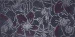 Chanel Kwiaty Grafit Dekor 40x20