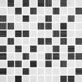 Futura Grafit/grigio Mozaika 30x30