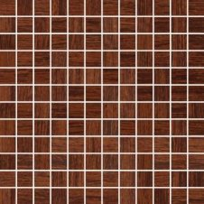 Zdjęcie Rovere Rosso Mozaika Cięta A Mat. 29.8x29.8 G1