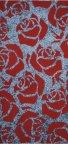 Polcolorit Alaska Grafit Róże Red Dekor 30x60
