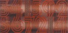 Zdjęcie Opoczno Jazz cyfry centro 29x59,3 czerwony OD003-010