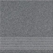 Zdjęcie Opoczno Gres Kallisto stopień 29,7x29,7 K10 grafit OP075-003-1