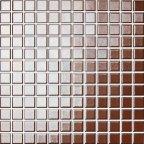 Opoczno Palette mozaika 30x30 brązowo-złoty OP041-004-1