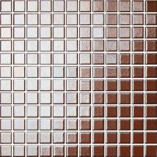 Zdjęcie Opoczno Palette mozaika 30x30 brązowo-złoty OP041-004-1