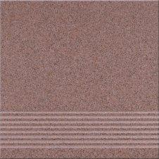 Zdjęcie Opoczno Gres Kallisto stopień 29,7x29,7 K6 terakota OP075-012-1