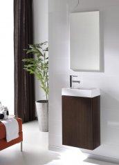 Zdjęcie Szafka z umywalką i lustrem Set Young Limba Elita 162343