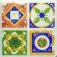 D-Majolika Quartet 1 11,5x11,5 TU_5438