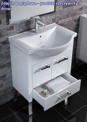 Zdjęcie Szafka pod umywalkę 105 Tokyo White Elita 164245