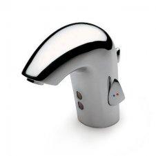 Zdjęcie Bateria umywalkowa z fotokomórką i automatycznym korkiem zasilana na baterie (w komplecie puszka na baterie)