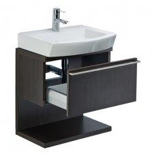 Zdjęcie Szafka pod umywalkę z szufladą 54 x 56,5 x 33,5 cm wenge