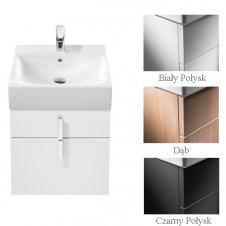 Zdjęcie Szafka pod umywalkę z dwoma szufladami 45,3 x 42,5 x 51 cm do umywalki Diverta 47 cm