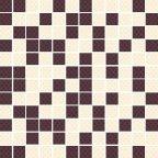 Kashmire Viola mozaika cięta 30x30